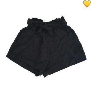 H&M Lyocell Black Shorts Size 4
